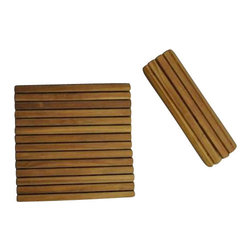 Anderson Teak - Shower Mat Roll It and Go! - it is perfect companion for your Jacuzzi, shower tub, spa, or even door mat.