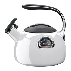 Cuisinart - Cuisinart PerfecTemp 3-Quart Teakettle White - Precise, multi-colored temperature gauge indicates the correct water temperature to provide the ideal cup of tea or coffee.
