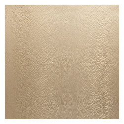 Gold Metallic Shagreen Pebble Fabric - Metallic pebbled shagreen in a cool shade of gold. Adds a touch of luxury with its subtle texture & shine.Recover your chair. Upholster a wall. Create a framed piece of art. Sew your own home accent. Whatever your decorating project, Loom's gorgeous, designer fabrics by the yard are up to the challenge!