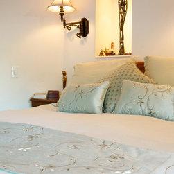 Master Bedroom - Custom pillows