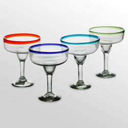 Global Amici - Global Amici Baja Margarita Glasses - Set of 4 Multicolor - Z7MCR549RS/4 - Shop for Drinkware from Hayneedle.com! About Global Amici Inc.Global Amici was established in 1982 on the sole principle of providing outstanding houseware products to its customers at a reasonable price. Each product focuses on design functionality and beauty. No matter what the occasion Global Amici offers products that showcase style that can help transform ordinary food and everyday dining into a special presentation not to be forgotten.