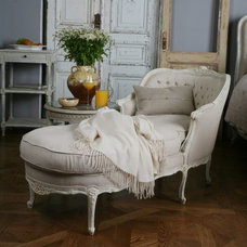 Eclectic Day Beds And Chaises by Dasan Interiors Inc.