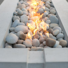 Modern Firepits by Dekko Concrete Decor