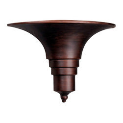 World Imports - Galt 1-Light Outdoor Sconce, Antique Copper - One light