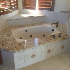 Traditional Vanity Tops And Side Splashes by Southwest Granite