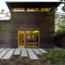 Contemporary Exterior by NB Design Group, Inc