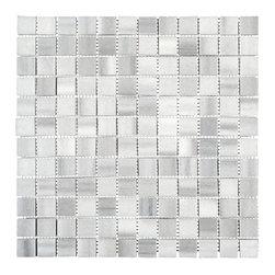 Stone & Co - Equator Marmara Marble Polished 1x1 Mosaic - Finish: Polished