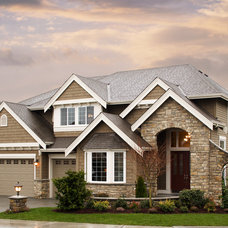 Traditional Exterior by John F Buchan Homes