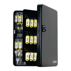 FJM Security - KeyGuard Combination Key Cabinet- 122 hooks - 122 key hook model. Why hassle with keys to secure and manage keys? With the new line of durable and reliable combination key cabinets from FJM Security Products, you don t have to. The durable KeyGuard Combination Key Cabinets are constructed entirely of heavy gauge steel, including the high capacity key hooks and continuous  piano