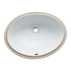Kingston Brass - Kingston Brass Fauceture LBO22178 Courtyard Oval Undermount Bathroom Sink - LBO2 - Shop for Bathroom from Hayneedle.com! Designed for versatility and strength the Kingston Brass Fauceture LBO22178 Courtyard Oval Undermount Bathroom Sink is durably crafted of solid china in your choice of color. Its smooth vitreous surface protects against stains and ensures a long-lasting glossy shine. Drain hole diameter: 1.75 in. Push pop-up mechanism Drain not included About Kingston Brass Inc.A group of plumbing professionals established Kingston Brass in 1998. Based in Chino Calif. Kingston Brass manufactures an extensive line of fine kitchen and bathroom items and matching accessories for your home. The company's products range from faucets sinks and tubs to toilets showers and bathroom accessories. With a foundation of quality value and service Kingston Brass is committed to providing innovative designs top-notch products and helpful service and information to its customers across the globe.
