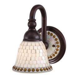 Minka Lavery - Minka Lavery ML 6051 1 Light Wall Sconce from the Piastrella Collection - Single Light Wall Sconce from the Piastrella CollectionFeatures: