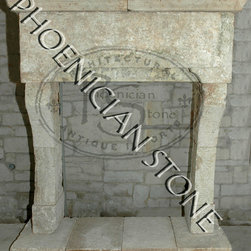 Antique Stone Fireplaces - Phoenician Stone