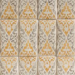 Duquesa Raffaela Decorative Field Tile in Caramella - Ceramic and Terracotta