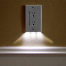 these night light outlet covers use $0.05 of electricity per year and require no