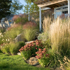Beach Style Landscape by Princeton Scapes Inc