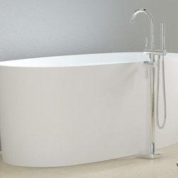 Wimberley Ranch Remodel - Badeloft Resin Soaking Tub (matte finish)