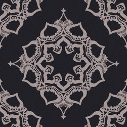 Surya - Surya Henna HEN-1021 (Slate, Light Grey) 5' x 8' Rug - The Surya Henna Collection features hand tufted rugs made with 50% Wool/30% Viscose/20% Cotton.