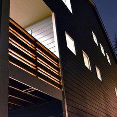 Contemporary Exterior by Paul Michael Davis Design