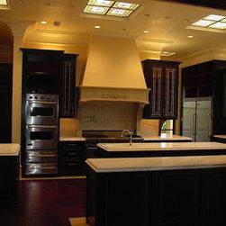 Limestone Kitchen Hoods -