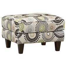 Eclectic Ottomans And Cubes by Havertys