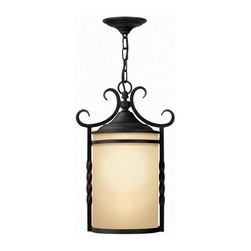 Hinkley Lighting - Hinkley Lighting 1142OL Casa Olde Black Outdoor Hanging Lantern - Hinkley Lighting 1142OL Casa Olde Black Outdoor Hanging Lantern