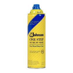 SC Johnson - SC Johnson 22 Oz One Step No Buff Fine Wood Floor Care (6-Pack) (125) - Johnson Wax 125 22 Oz One Step No Buff Fine Wood Floor Care (6 Pack)