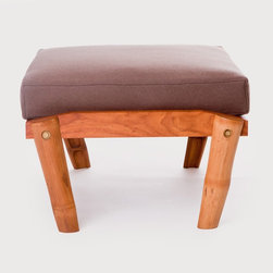 Future Primitive Otto Man - El Dot's furniture collection includes simple yet stunning pieces, handcrafted by artisans in Nepal. With a focus on sustainable production, this collection is made entirely of renewable and chemical free materials. A Seattle based studio, El Dot was founded by Lishu and Leonardo Rodriguez, environmental artists and designers originally from Nepal and Venezuela. Their affinity for craftsmanship and mindful design is apparent in all of their work, such as this ottoman, a place to rest your feet and the perfect companion to the Future Primitive Lounge Chair. This is a made to order item and ships within 4-6 weeks. This item qualifies for free ground shipping.