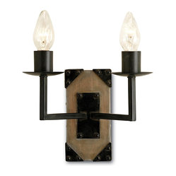 Iron and Ash Wall Sconce