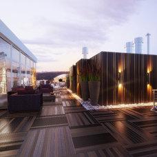Modern Patio by Design Studio Y&S architecture-interior design