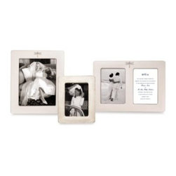 Kate Spade New York - kate spade new york June Lane Silver Plated Double Invitation Frame - The graceful dragonfly design on this frame creates a lovely way to display your cherished photos. Silver plated frame is a classic yet whimsical addition to any decor.