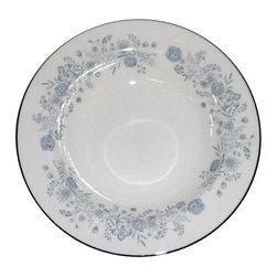 Wedgwood - Wedgwood Belle Fleur Rimmed Soup Bowl - Wedgwood Belle Fleur Rimmed Soup Bowl