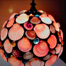 Tropical Table Lamps by East Village Artisans