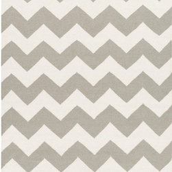 Artistic Weavers - Artistic Weavers York Pheobe (Grey, Ivory) 5' x 8' Rug - This Hand Woven rug would make a great addition to any room in the house. The plush feel and durability of this rug will make it a must for your home. Free Shipping - Quick Delivery - Satisfaction Guaranteed