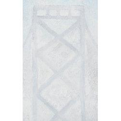 Bay Ii (Original) by Megan Fister - The San Francisco Bay Bridge emerging from early morning fog.