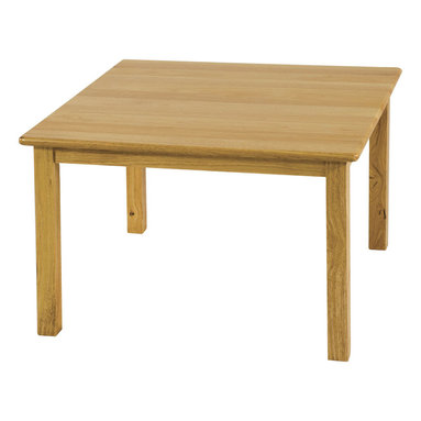 "Ecr4kids - Ecr4Kids 30""X30"" Square Hardwood Table With 18"" Legs - A classic edition to any classroom, playroom, library, or common area, this durable, solid hardwood table is attractive and built to last. Tabletops are beautiful, easy-to-clean, and have smooth, rounded edges for style and safety. a 3/4"" thick hardwood tabletop and solid hardwood legs.Adult assembly required. Adult Supervision Recommended. Warning: Contains small parts, sharp points and edges."