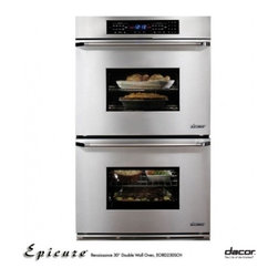 "Dacor - EORD230SCH Classic 30"" Epicure Double Electric Wall Oven with 3.9 cu. ft. Pure C - Built on a strong foundation of pioneer spirit and American heritage Dacor was founded in 1965 Forty years later it is still family owned and operated Dacor continues to reinvent the modern kitchen by designing and building innovative products combin..."