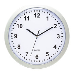 KOOLEKOO - Storage Wall Clock - Dont lose time when youre trying to get out the door! With this handy and handsome storage wall clock, you can stay on schedule and know exactly where your keys, wallet, and more are located. Stash your necessities or whatever you want to keep out of plain sight in this inconspicuous looking wall-mounted clock that opens to reveal three interior storage shelves. This is a surefire way to arrive on time with everything you need!