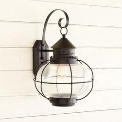 Charleston 1-Light Outdoor Lantern - This light has a great vintage vibe.