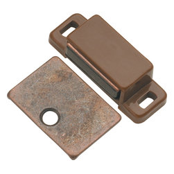 Hickory Hardware - Hickory Hardware 1-7/16 In. Cadmium Super Magnetic Catch - Functionalism is the principal that design is based on the purpose of that piece.  Hinges, hooks, catches, drawer slides and screws.  All designed for a specific purpose and necessary in every home.