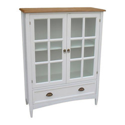 Wayborn - Bookcase With Glass Door - Bookcase With Glass Door