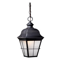 Vaxcel Lighting - Vaxcel Lighting NH-ODD080 New Haven 1 Light Outdoor Pendant - Product Features: