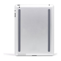 BlueLounge - Kicks iPad Rails - Get a grip on your mobile usage. These sleek silicone rubber rails attach to the bottom of your iPad with nonmarking, removable adhesive. Avoid scratches and slips without adding any weight to your device.