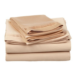 Luxor Treasures - Luxor Treasures 650 Thread Count Egyptian Cotton Solid Sheet Sets - 650SKSH SLBG - Shop for Sheets from Hayneedle.com! Super luxurious and subtly stylish the Luxor Treasures 650 Thread Count Egyptian Cotton Solid Sheet Sets is the perfect set for anyone craving a little extra TLC. Crafted of 100% Egyptian cotton this set touts a a 650 thread count for ultimate comfort. Available in an array of rich solid colors this set comes complete with a fitted sheet flat sheet and one to two pillowcases depending on the set size you order. Perfect for your home or as a gift this set is also machine-washable making it super easy to care for.About Home City Inc.Established in the 1980s in Queens New York selling towels and lower-thread-count sheets Home City Inc. started in small office and has developed into a worldwide manufacturing and importing company based out of Brooklyn NY. They were able to establish the name Home City Inc. in 2003 which set the tone for the growth in a company that boasts over 25 years of experience in production. Over the years Home City has developed and perfected unparalleled quality products that now serve domestic and international retail stores. Today Home City's fulfillment center is located in Linden NJ with a showroom on Fifth Avenue in New York NY allowing them to provide their customers with an expanded selection of sheet sets duvet cover sets bed skirts pillowcase sets bed-in-bag sets down comforters mattress toppers pillows quilts robes towel sets and more.