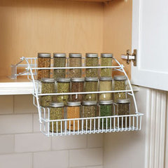 cabinet and drawer organizers Rubbermaid Pull-down Spice Rack