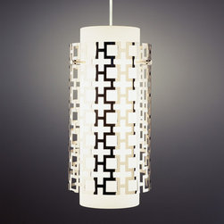 Jonathan Adler Parker Pendant in Parker - These sconces, inspired by Palm Springs modern fun in mind are at once geometric, contemporary and super-glam! Just know that wherever you install them they will command a lot of attention.