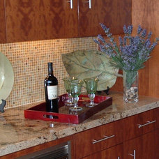 Contemporary Kitchen by May Construction, Inc.