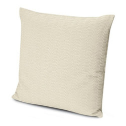 Missoni Home - Missoni Home | Oden Neutral Pillow 24x24 - Design by Rosita Missoni.