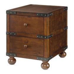 Hammary - Hammary Hidden Treasures Trunk End Table - Hammary Hidden Treasures Trunk End Table