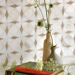 Mosaic Product Offerings - Zazen mosaic in honed natural stone from New Ravenna.