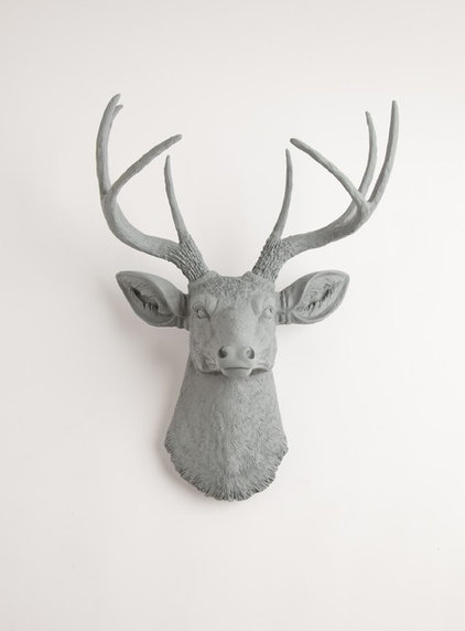 Eclectic Artwork by White Faux Taxidermy